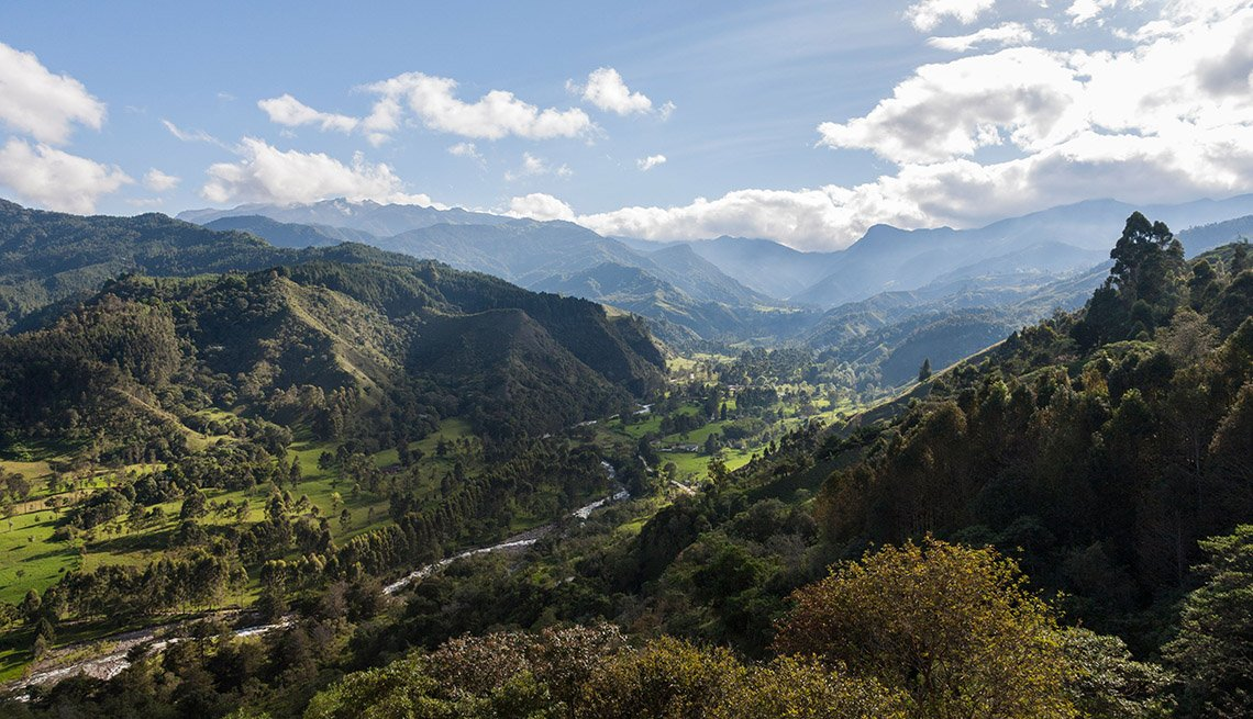 Cocora Valley In Colombia, Latin American Natural Wonders