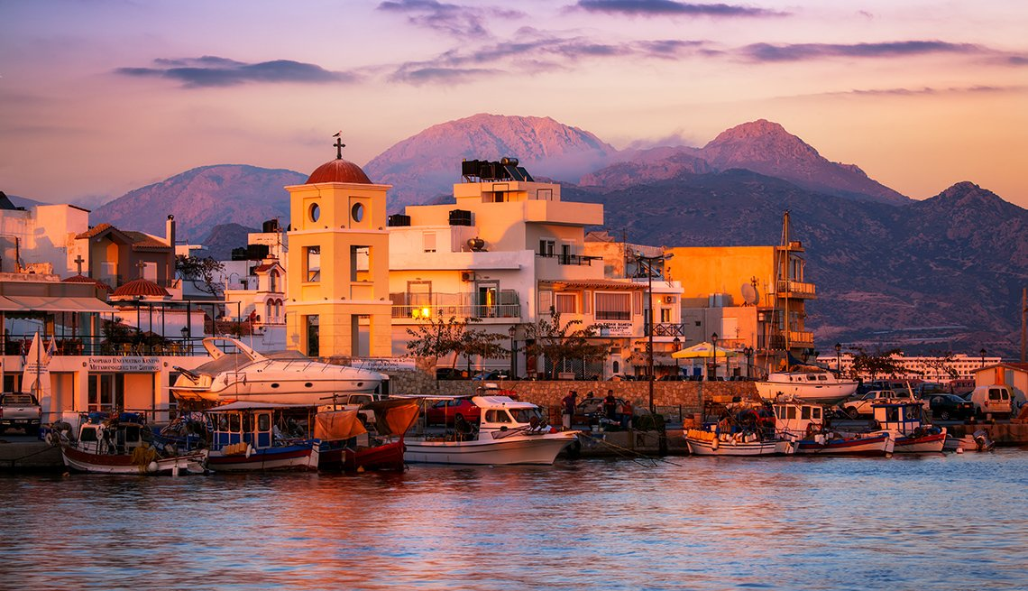 Ierapetra, Crete, Greece, Sunset, Affordable Europe: 8 Iconic Cities Not to Be Missed