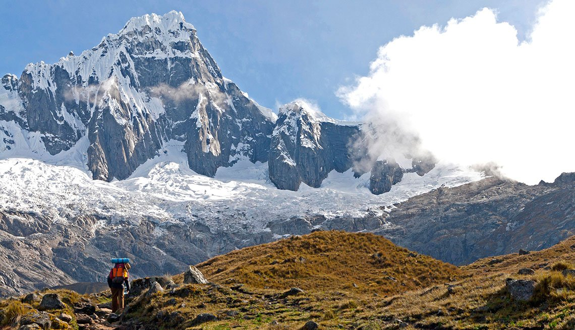 The Santa Cruz Trek In Huascaran National Park In Peru, Latin American Natural Wonders