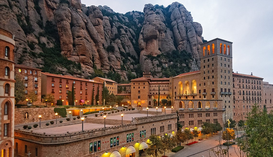 Santa Maria de Montserrat Abbey, Mountain Rocks, World's Best Budget Places