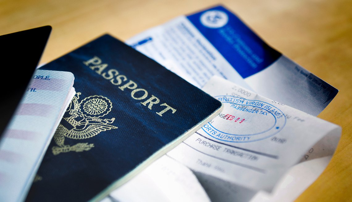 Passport, Visa, Travel Documents, Checklist for International Travel