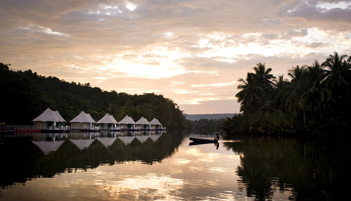 Lugares glamorosos donde acampar