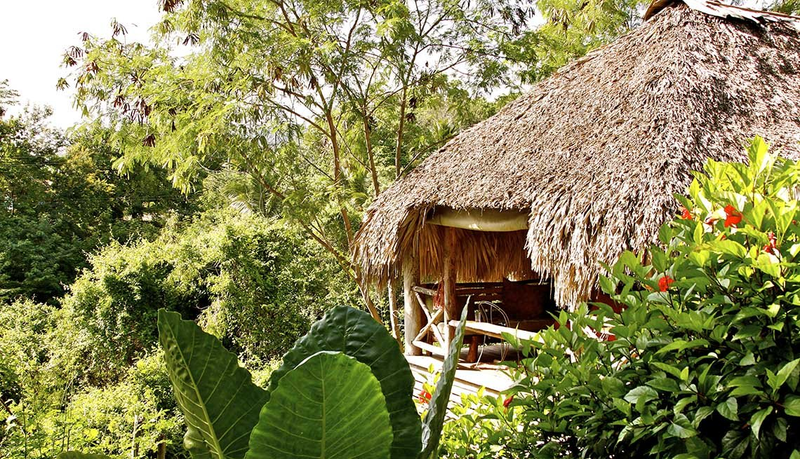 Hut At Tubagau In The Dominican Republic, Global Glamping