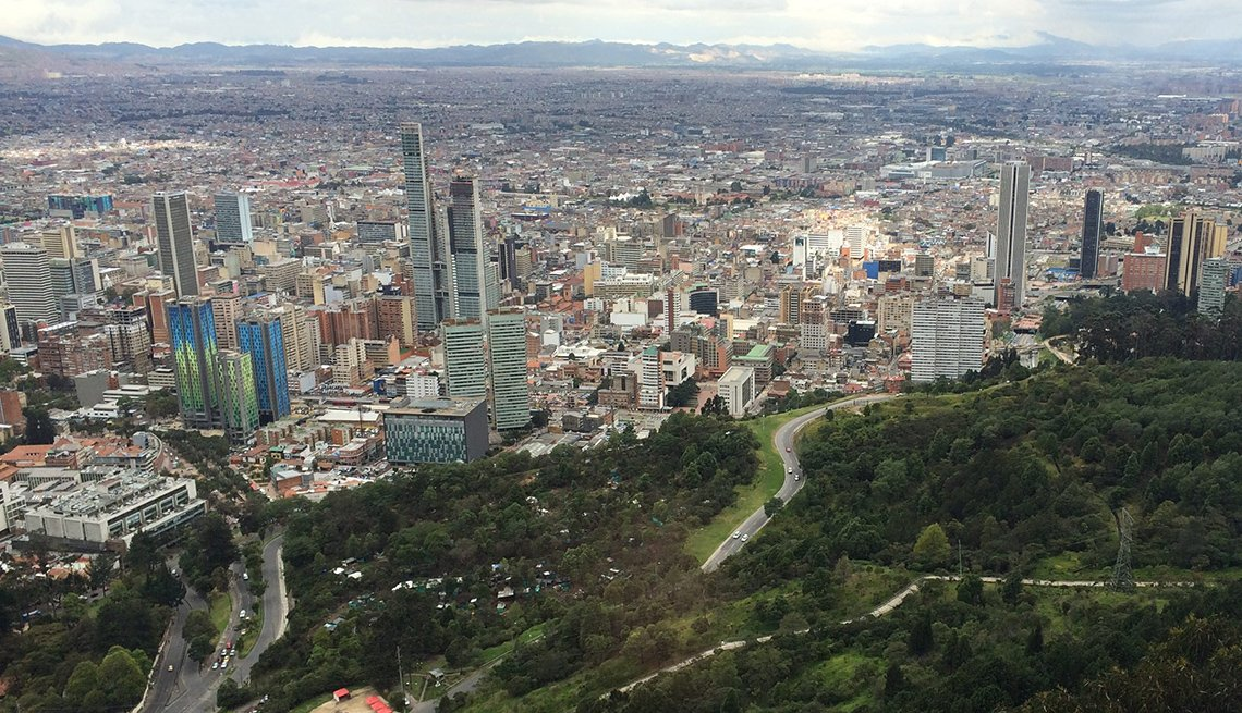 Aerial View Of Bogota Colombia, Colombia Slideshow
