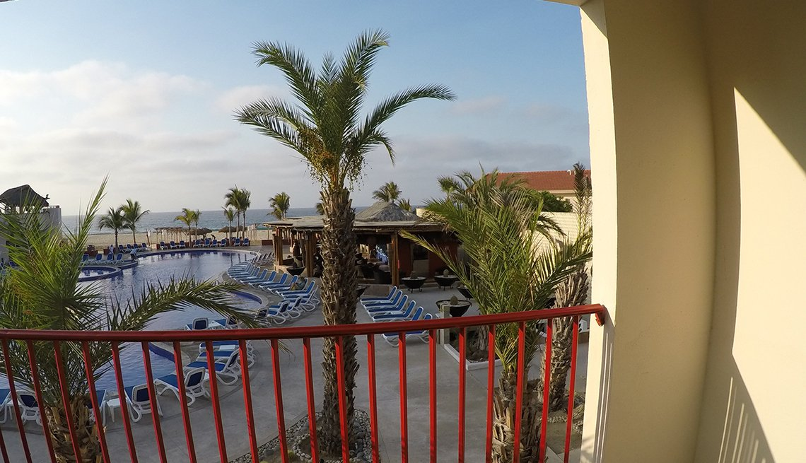 View From The Balcony Of The Royal Decameron Los Cabos, All Inclusive Mexican Resorts