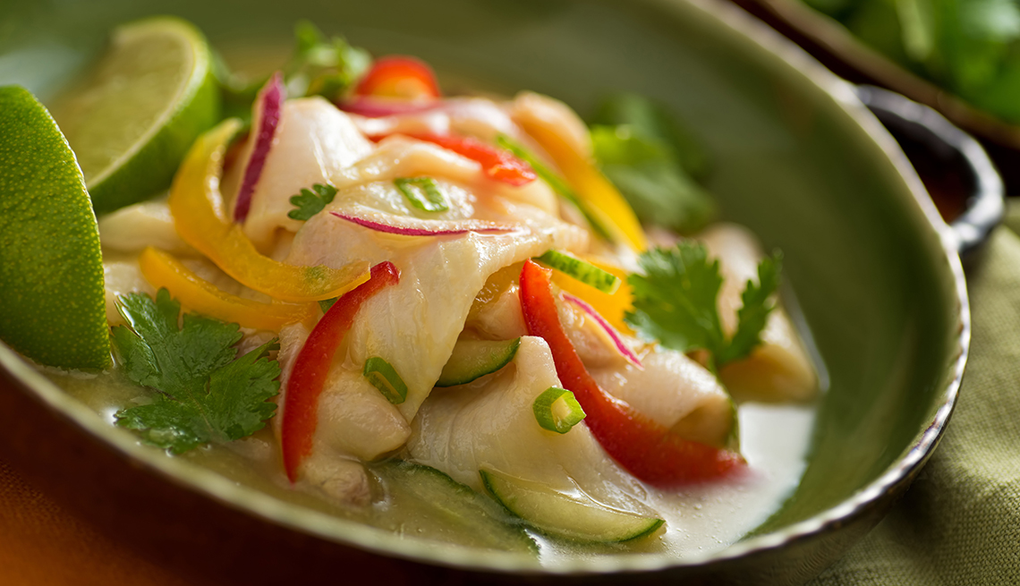 item 1 of Gallery image - Ceviche de pescado.