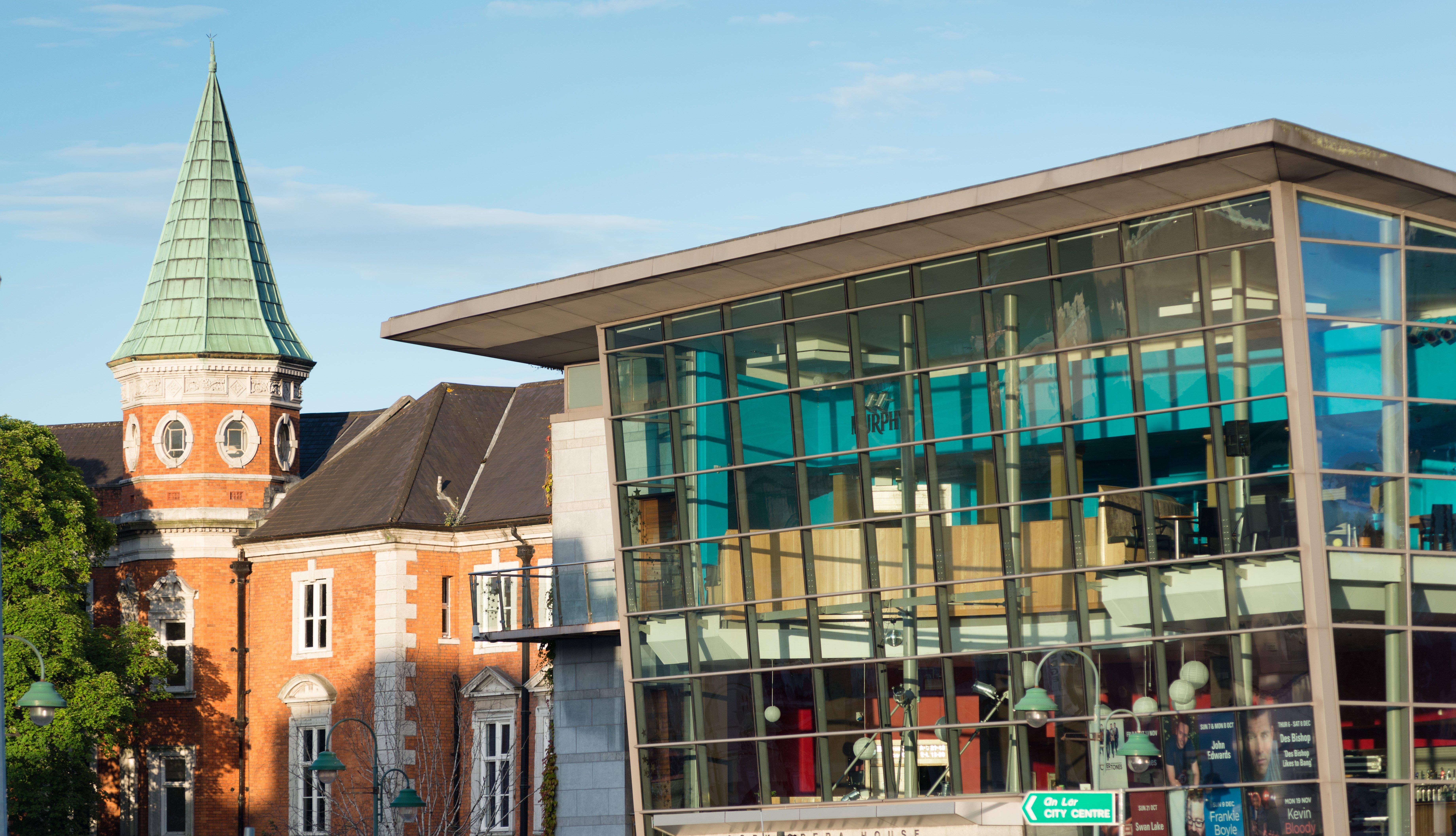Casa de la Ópera de Corky galería de arte Crawford en Cork City, Irlanda.