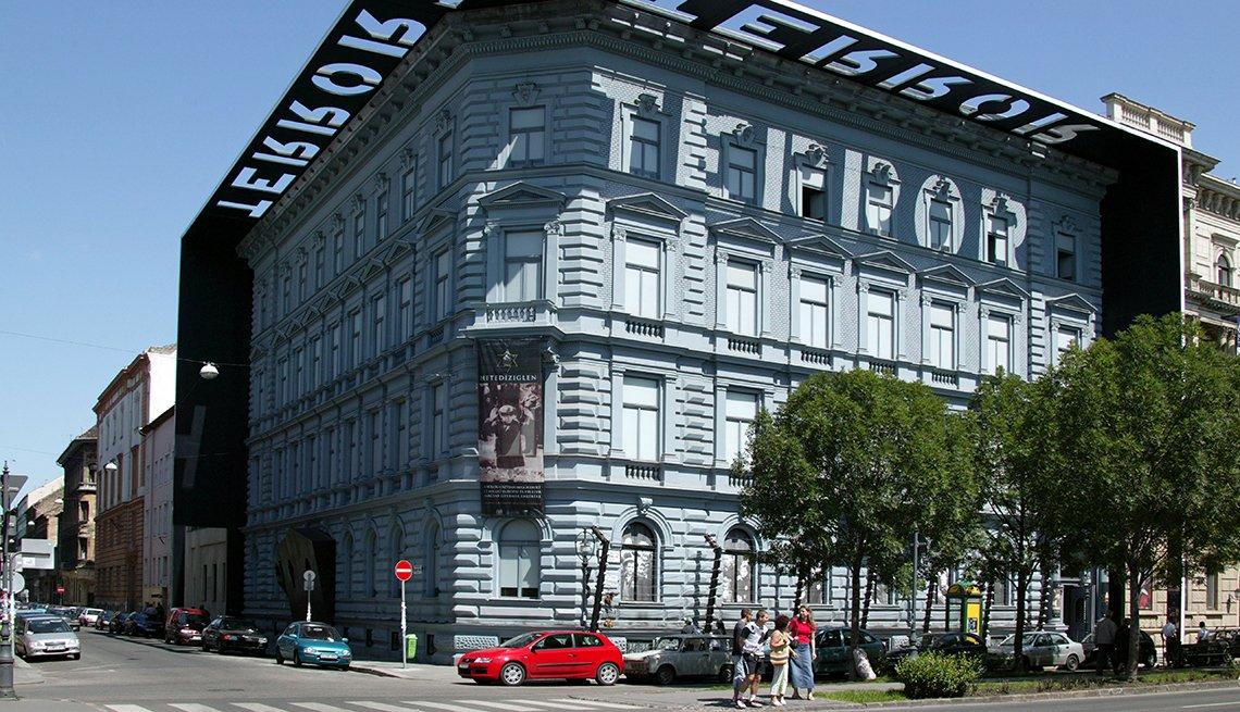 Casa del terror, Budapest Hungría.