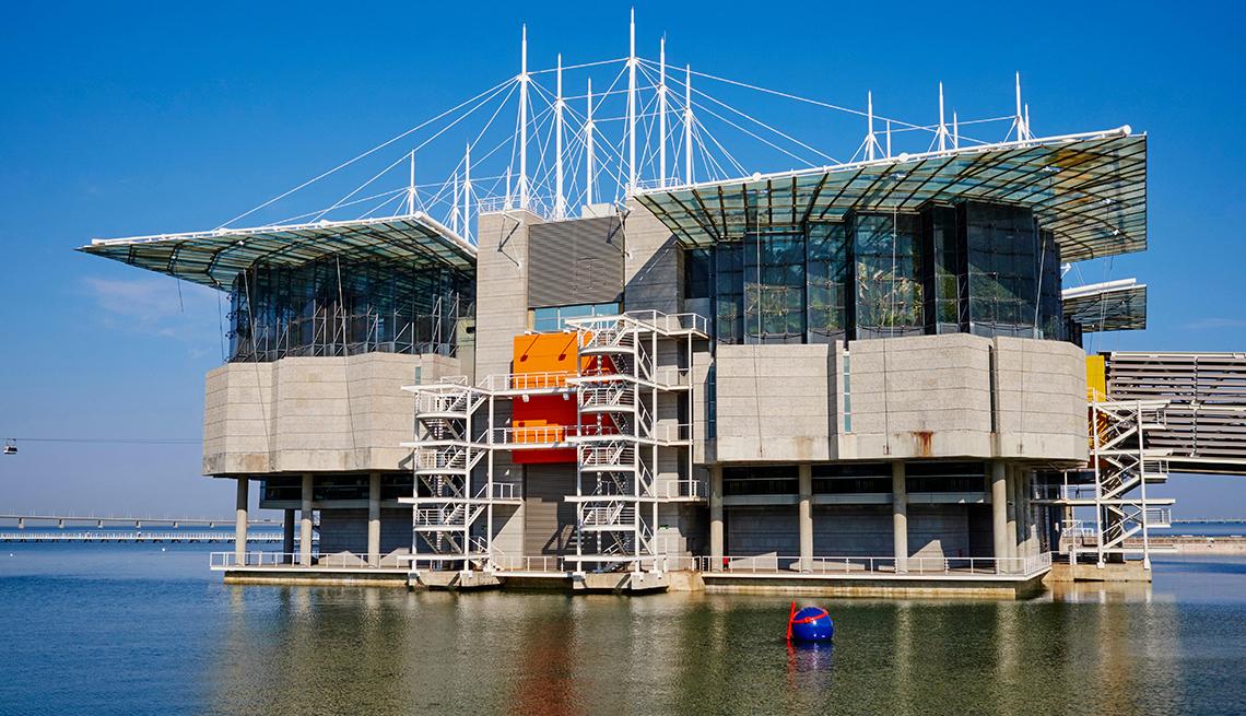 Lisbon Aquarium in Portugal
