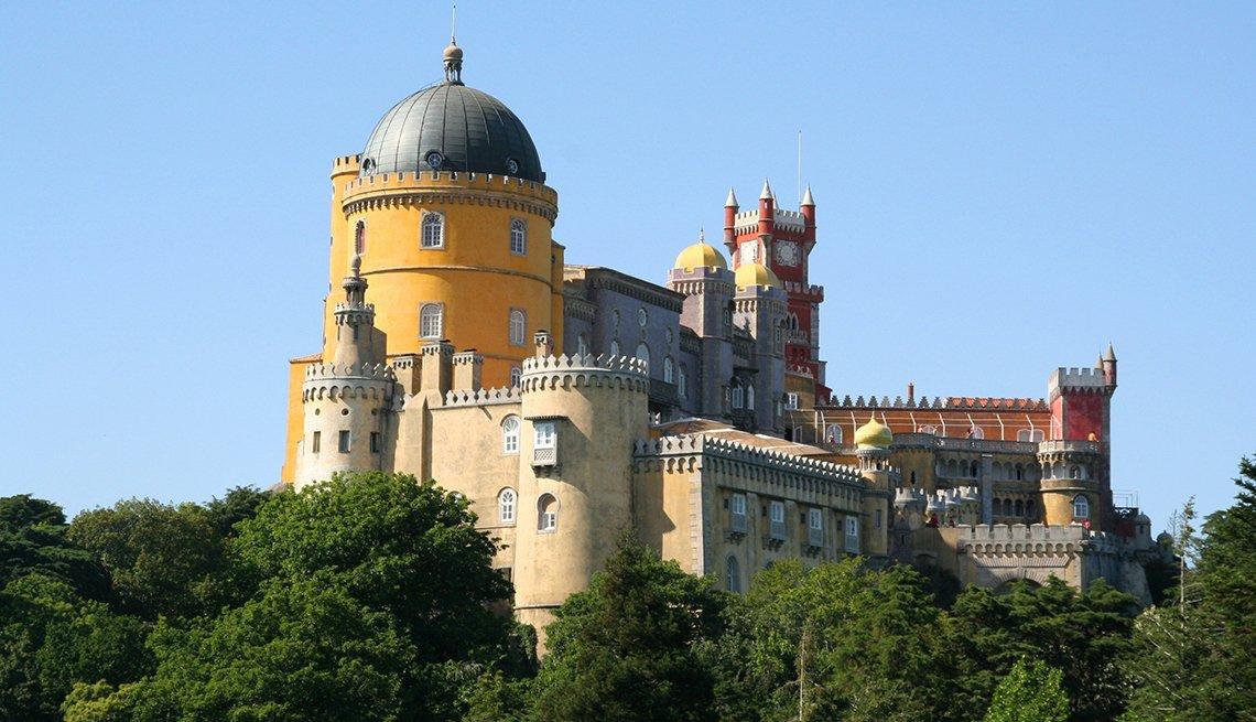 Palacio da Pena en Sintra, Portugal.