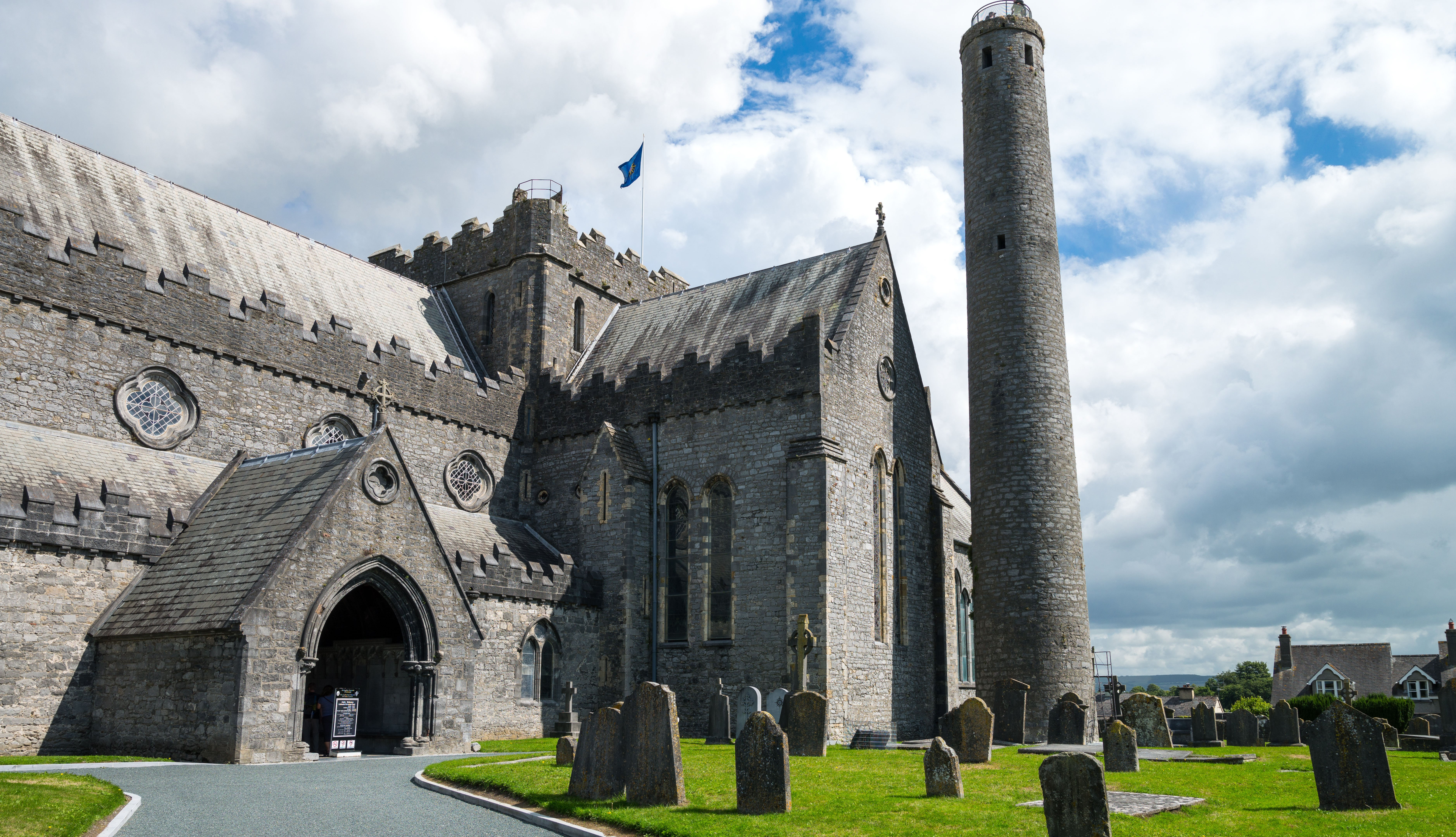 St Canice's Cathedral in Ireland