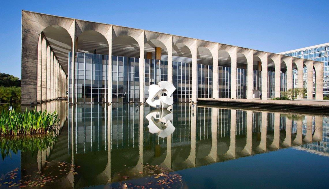 Palacio de Itamaraty, Río de Janeiro, Brasil.