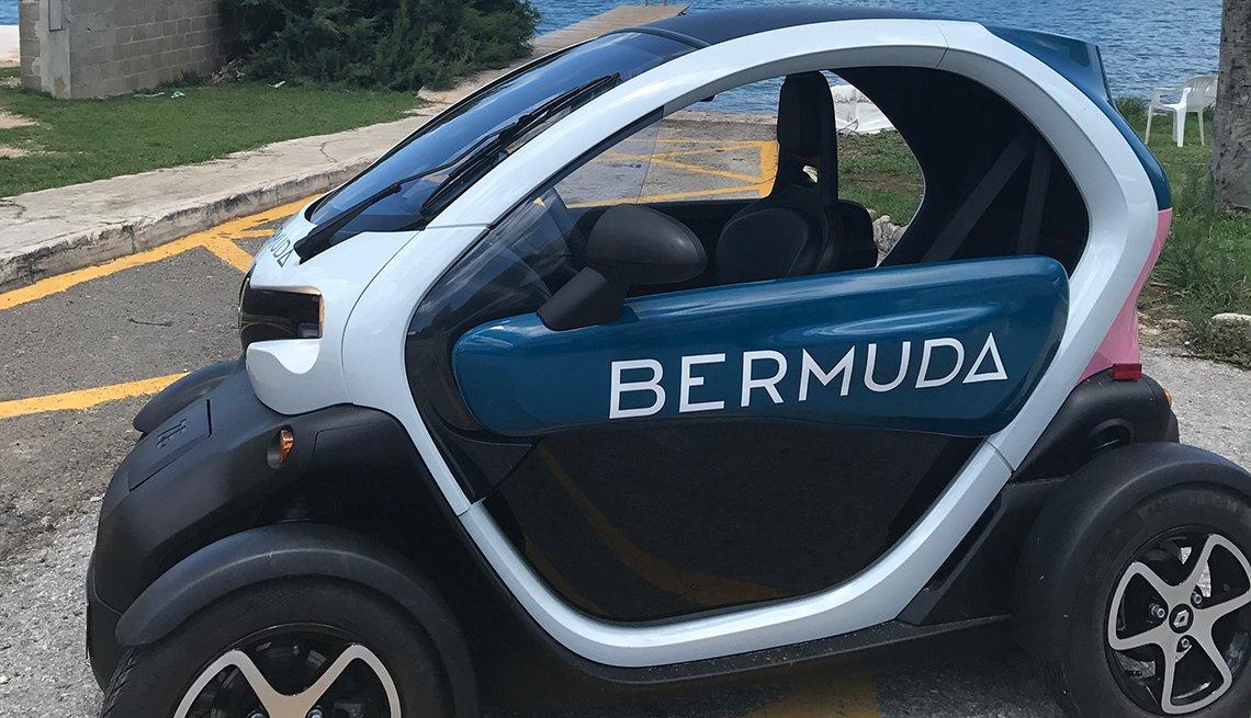 Image of Renault Twizy Minicar in Bermuda
