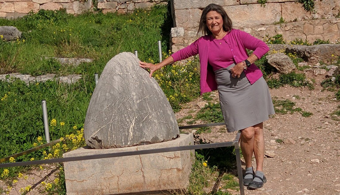 Sharon King Hoge in Delphi