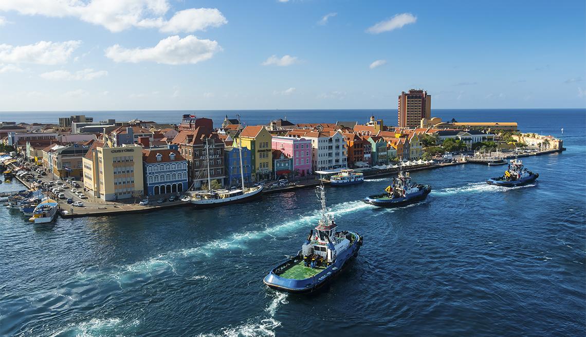 Vista aérea de Willemstad