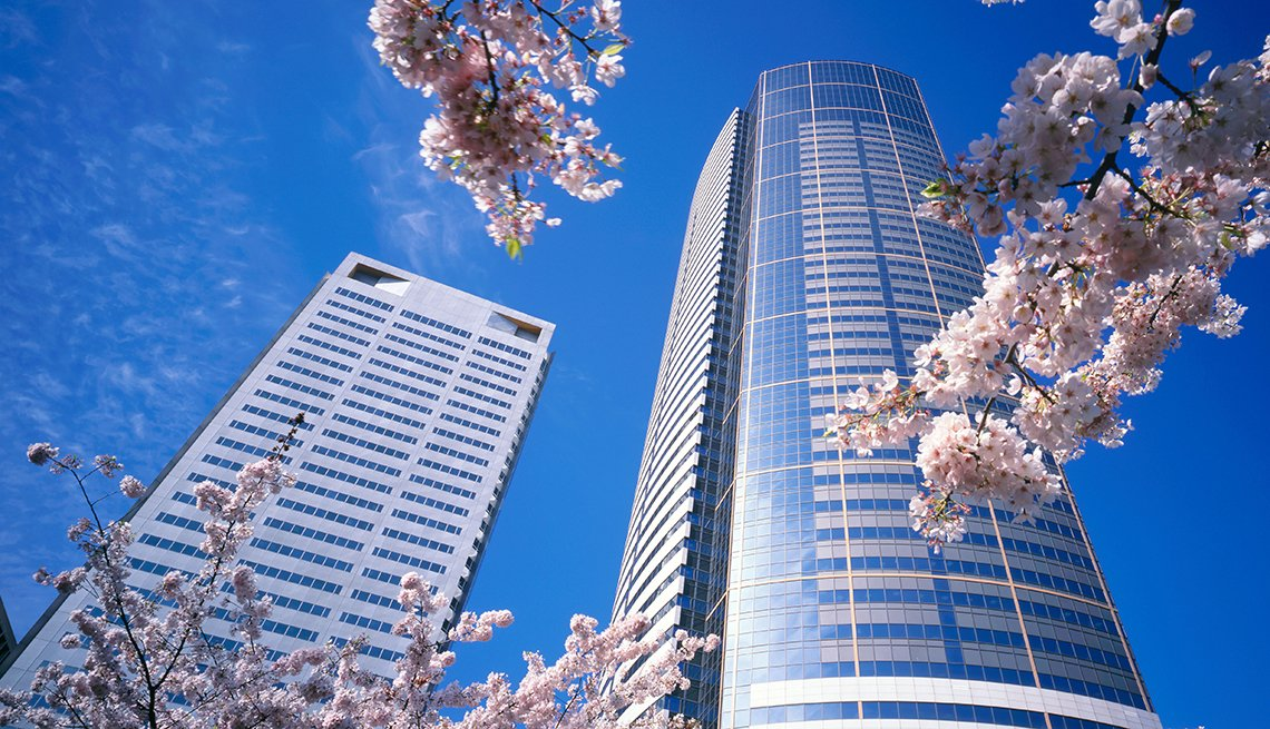 Union Square towers in Seattle, America's Coolest Skyscrapers, Travel