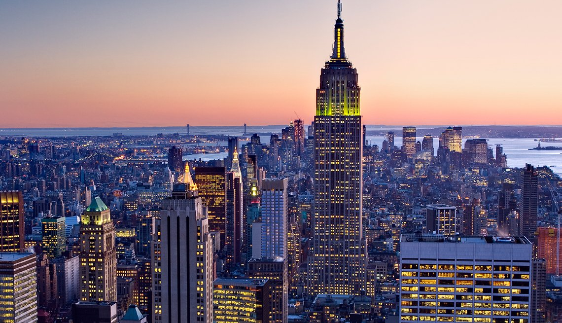 Empire State Building in New York, America's Coolest Skyscrapers, Travel