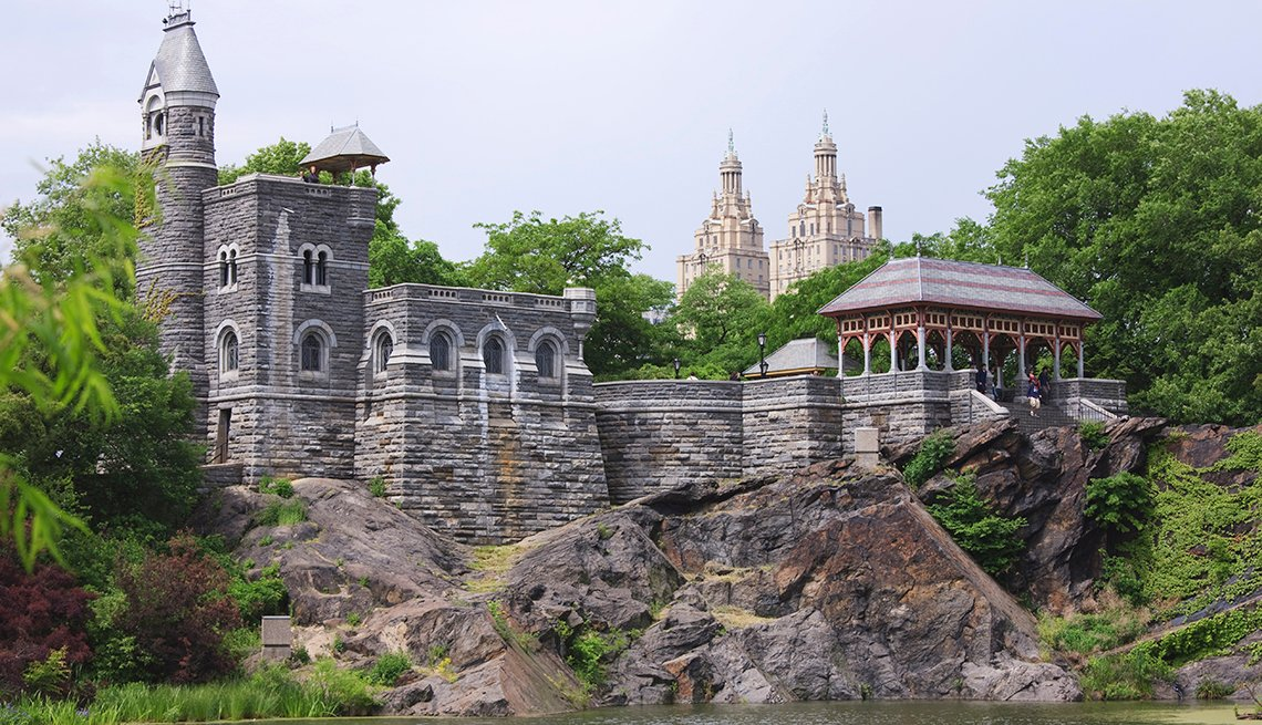 Belvedere Castle, Rocks, New York, 10 Must-See American Castles