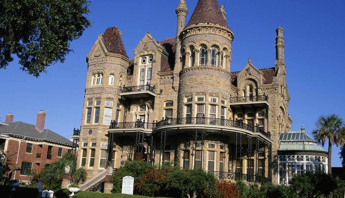 The Bishop's Palace, Galveston, Texas, 10 Must-See American Castles
