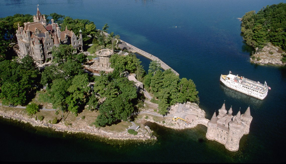 Boldt Castle, St. Lawrennce Islands, Ontario, 10 Must-See American Castles