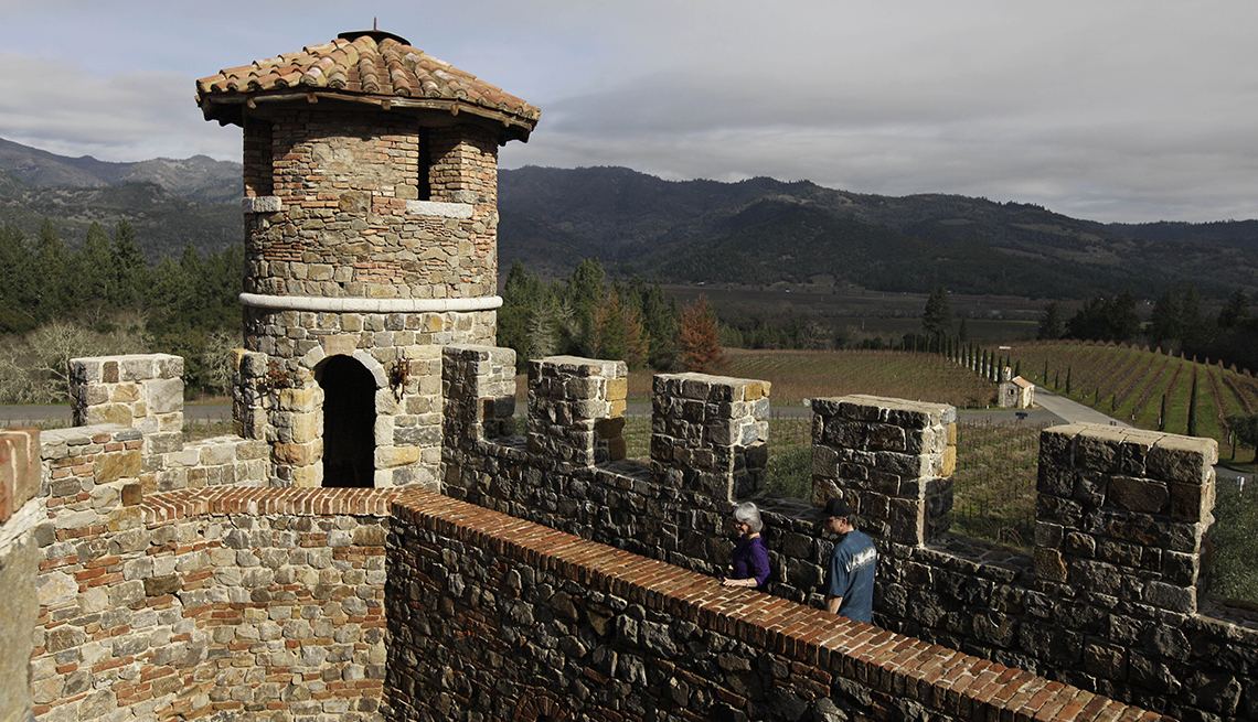 Castello di Amorosa, Calistoga, Calif., 10 Must-See American Castles