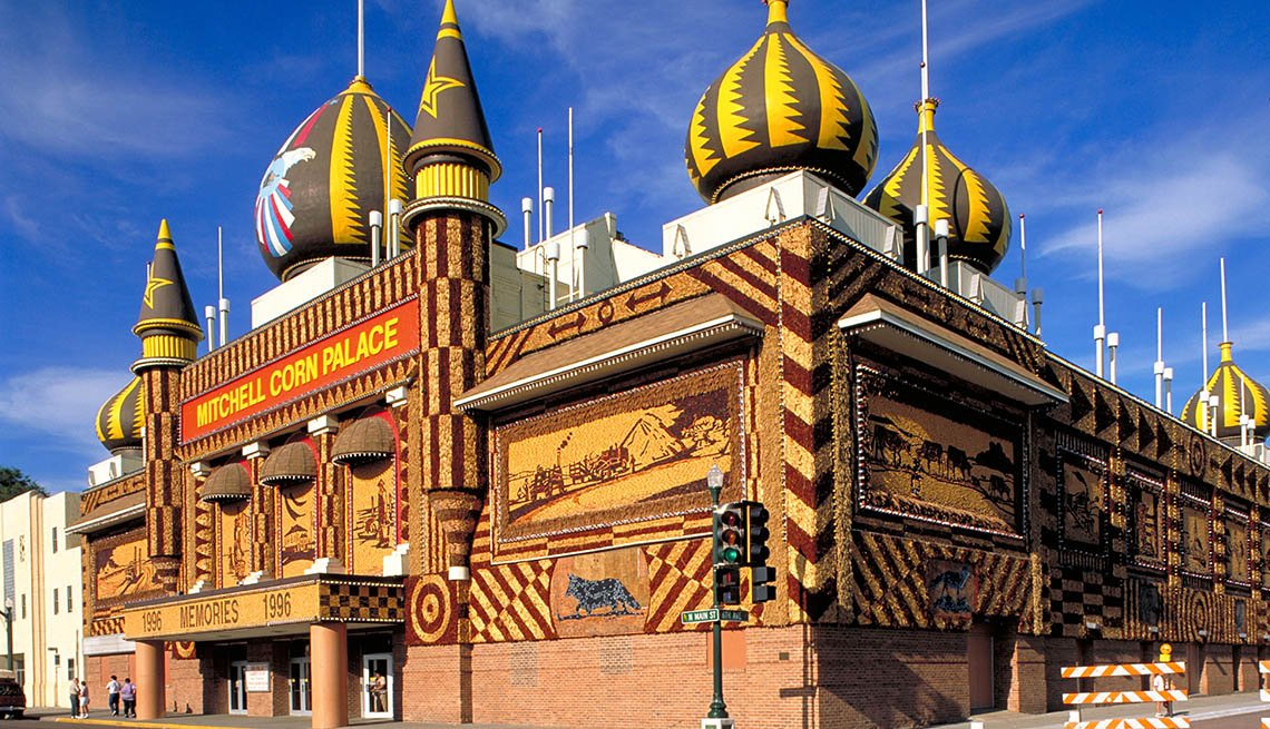 Corn Palace In Mitchell South Dakota, Roadside Attractions