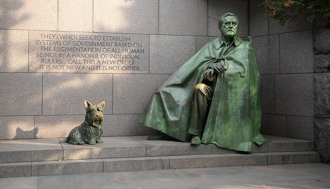 Franklin Delano Roosevelt Memorial, Washington, D.C. Monuments and Memorials