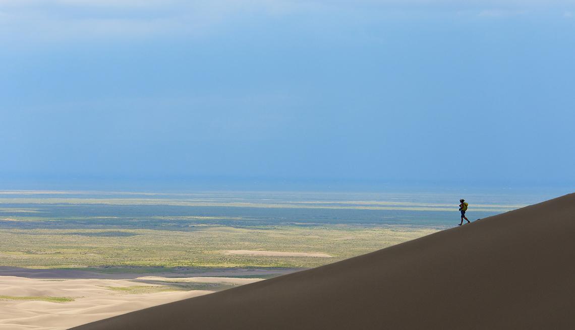 Laura Shultz, Dune Edge, Far Valley, Great Sand Dunes, America's Top 10 Natural Wonders