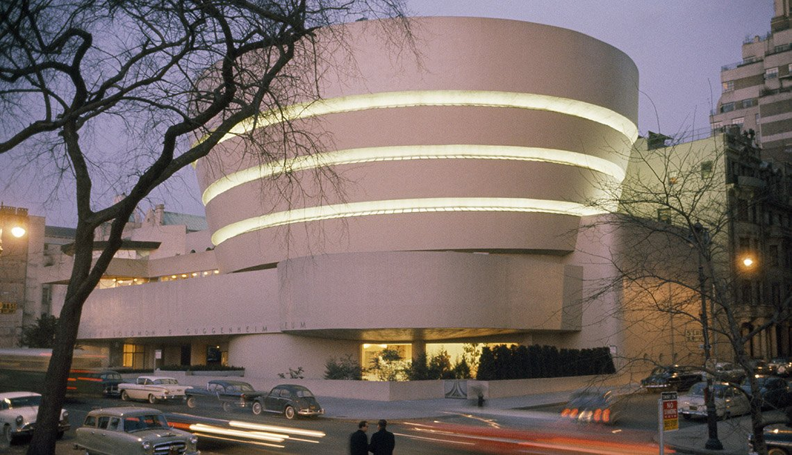 The Guggenheim Museum Is One Of New York's Most Recognizable Landmarks And Buildings, Bizarre Buildings