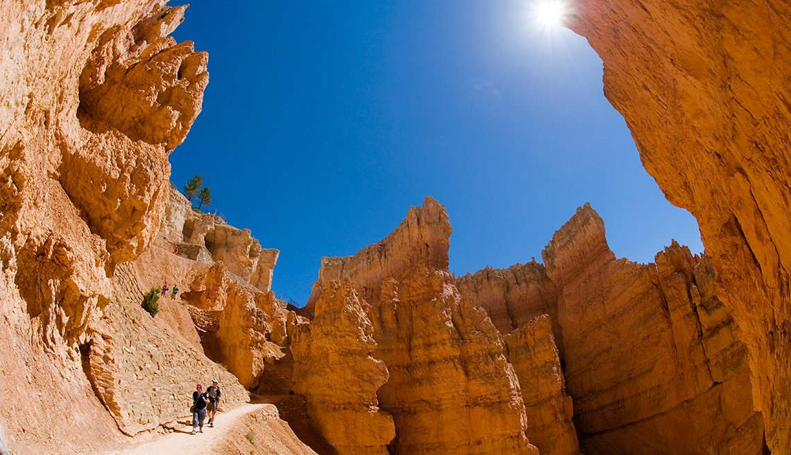 Trail Through Red Rock Canyon, Bryce Canyon National Park, America's Top 10 Natural Wonders