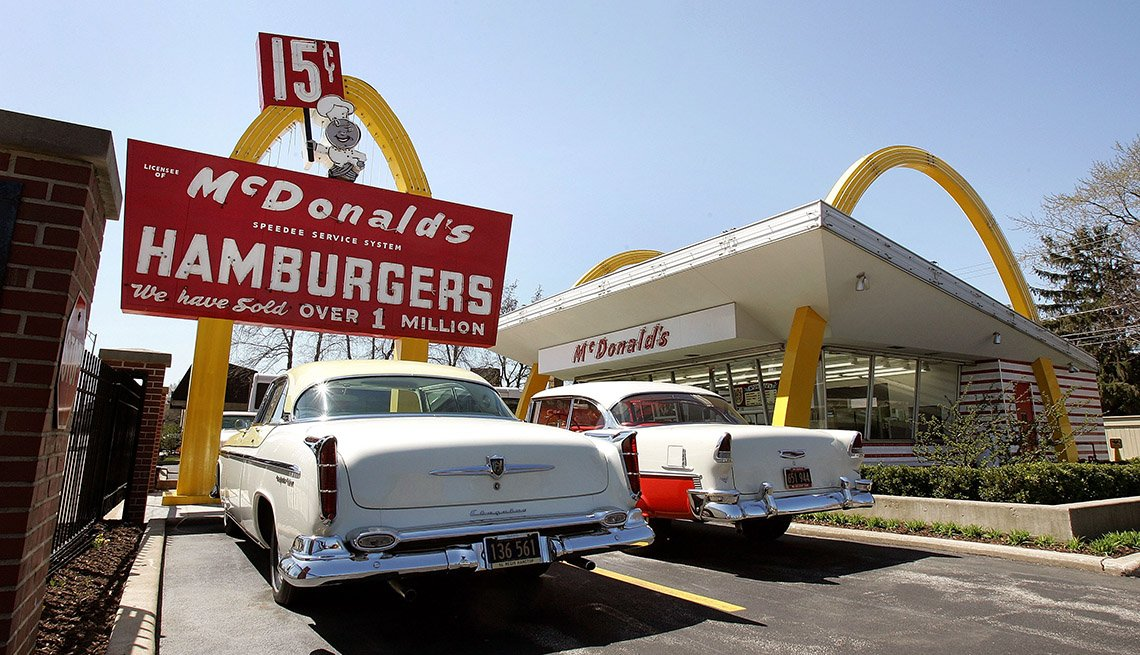 The Original Location Of The First McDonald's And Now Museum In Des Plaines Illinois, Roadside Attractions