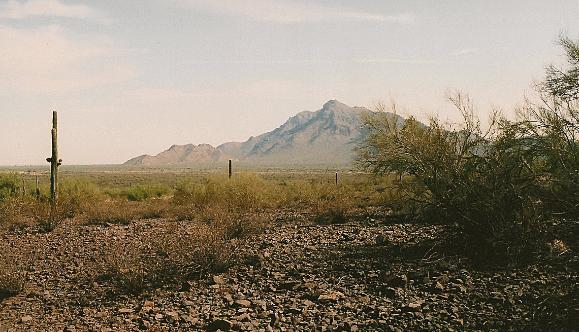 Picacho Peak, Mountains, Saguaro Cactus in Desert, Fascinating Civil War Battles Across the Continent