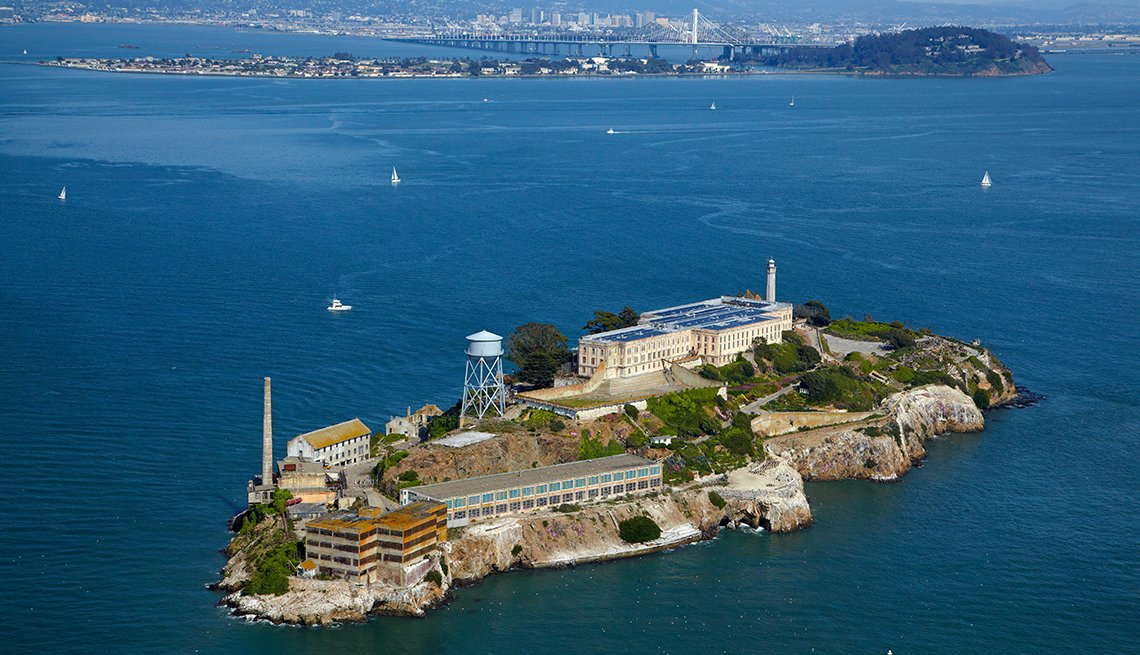 Alcatraz Island, San Francisco Bay, U.S. Cities for History Buffs