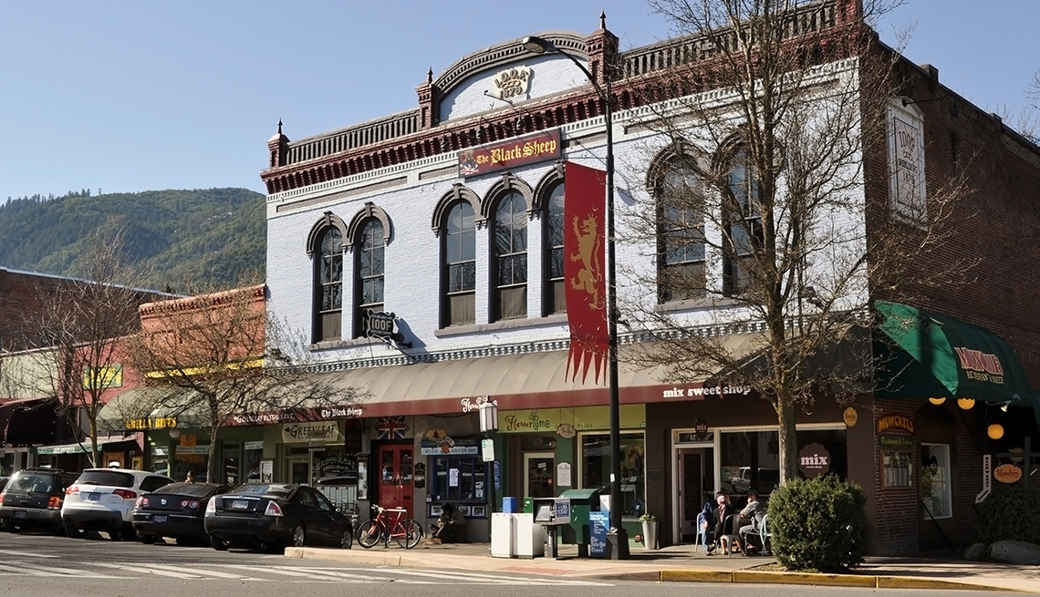 Downtown Ashland Oregon, Best Small Towns In America