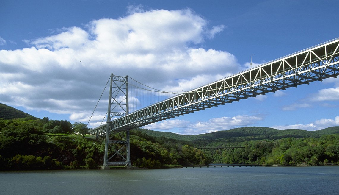 The Bear Mountain Bridge In New York, Must See Bridges
