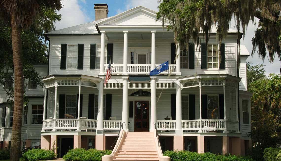 The John Cuthbert House In Beaufort South Carolina, Best Small Towns In USA