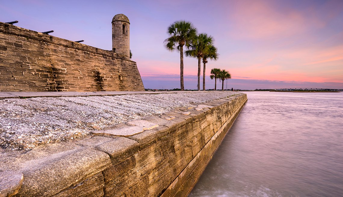 Castillo de San Marcos, St. Augustine, Florida, U.S. Cities for History Buffs