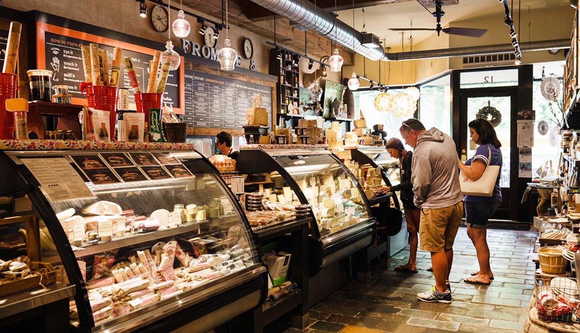 Cheese Shop, Madison, Heartland Getaways