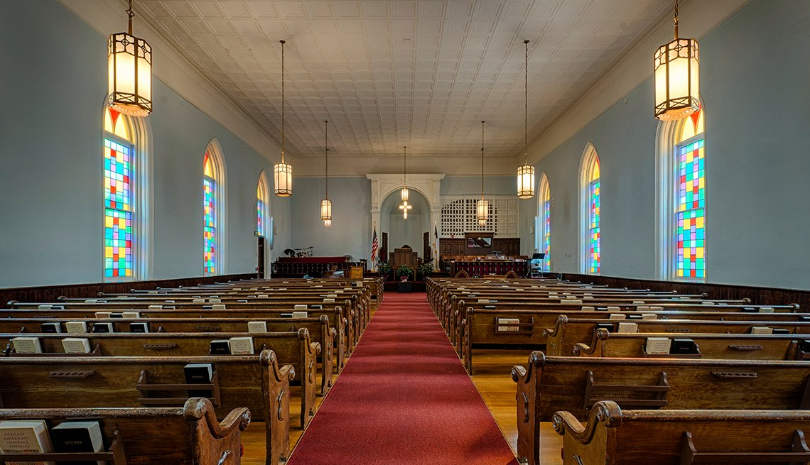 King Memorial Baptist Church, Montgomery, Alabama, U.S. Cities for History Buffs