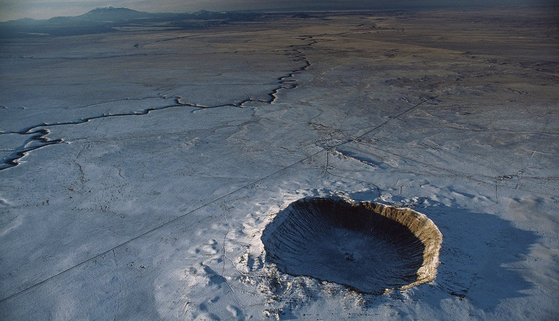 The Meteor Crater, Holes And Craters To Visit That Are Not The Grand Canyon