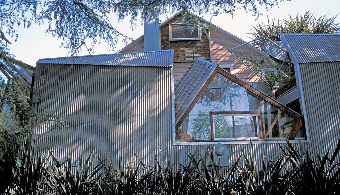 Frank Gehry's Personal Residence In Los Angeles California, Iconic Private Homes