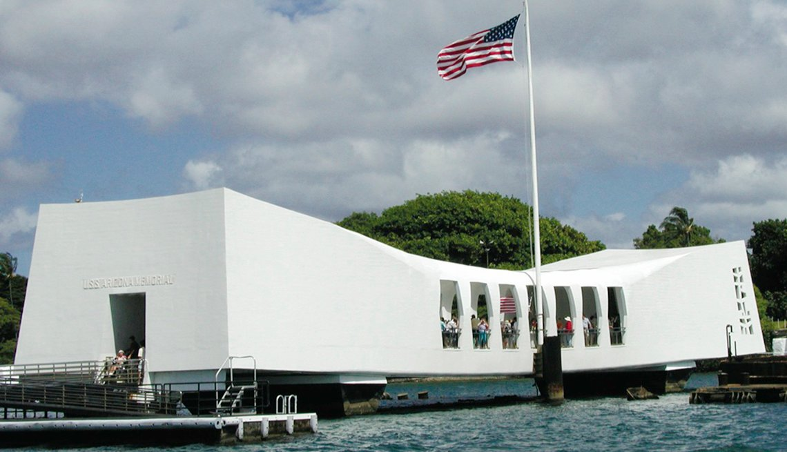 USS Arizona National Memorial in Honolulu, Hawaii, Memorial Day Historic Sites