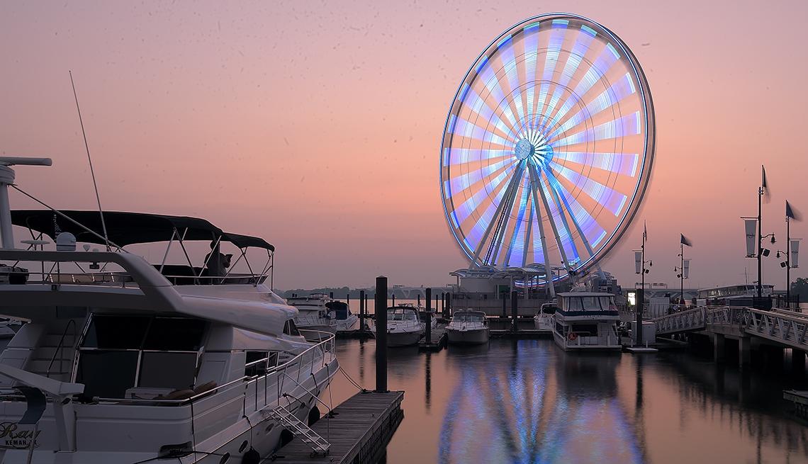 Capital Wheel, National Harbor, Maryland, Top U.S. Vacation Destinations