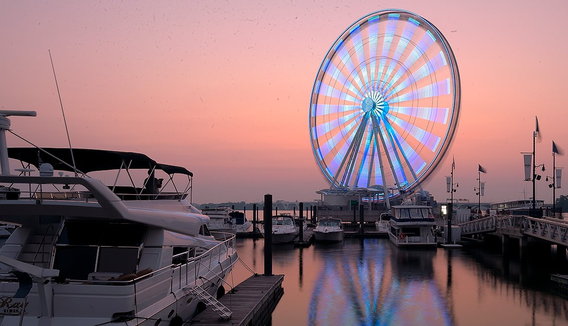 Capital Wheel, National Harbor, Maryland, Top U.S. Vacation Destinations