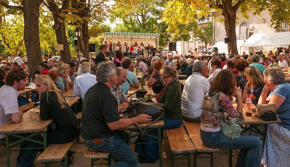 Outdoor Music Festival, Alsace, France, Samantha Brown's Top Picks for Fall Foliage