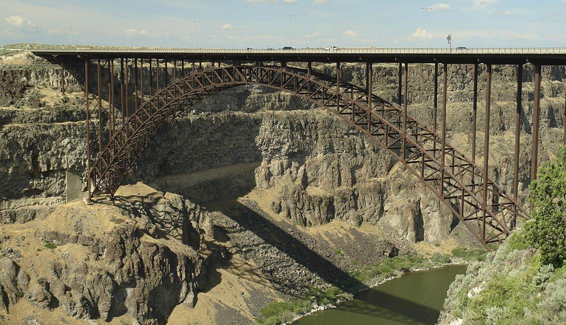 The Perrine Bridge In Twin Falls Idaho, Must See Bridges