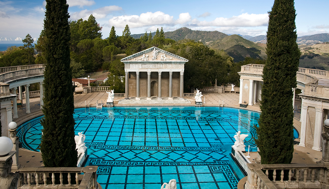 item 4 of Gallery image - Neptune Pool, Hearst Castle, Villa, California, Budget U.S. Trips