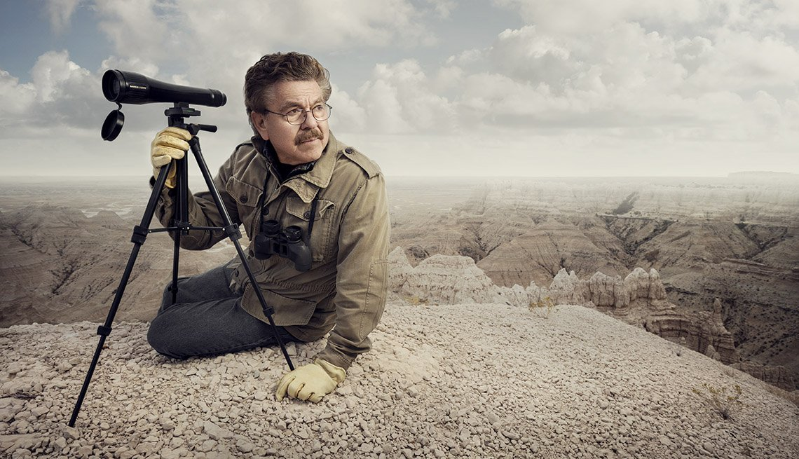 Conservationist Richard Sherman, Badlands National Park