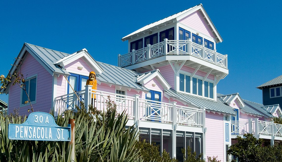 Beachfront Cottage, Seaside, Florida, Top U.S. Vacation Destinations