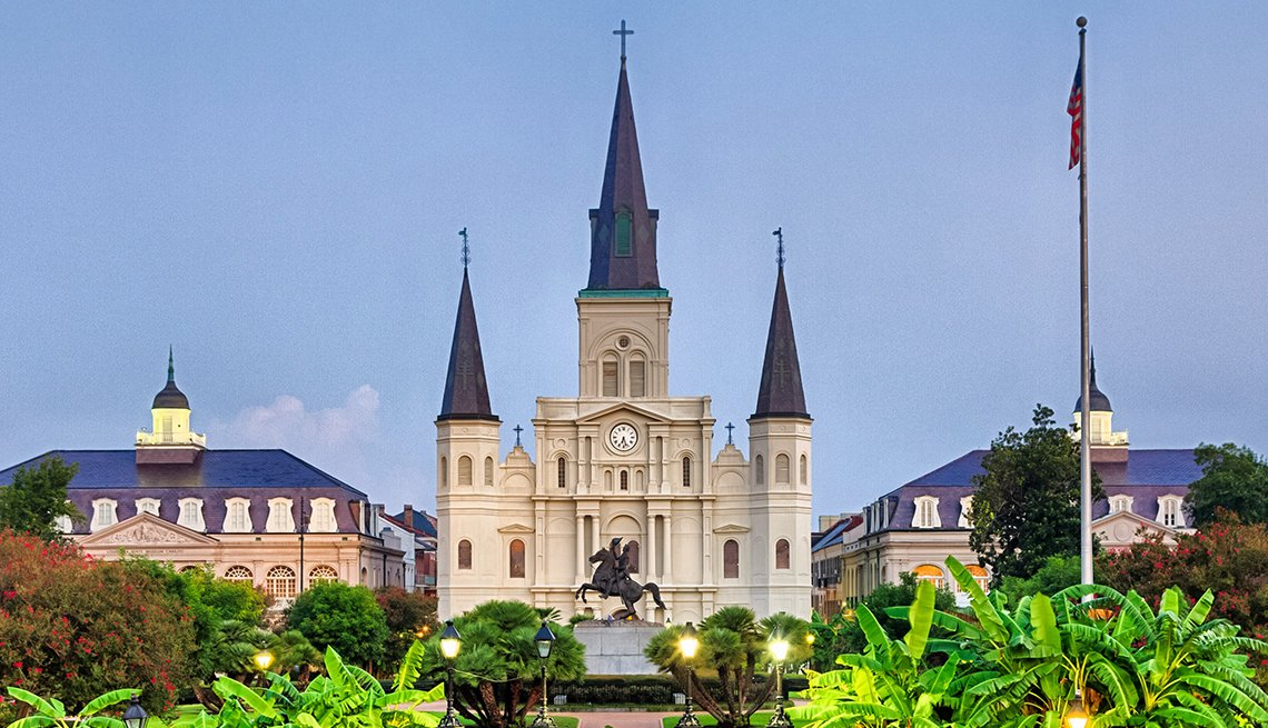 Cathedral of St. Louis, New Orleans, U.S. Cities for History Buffs
